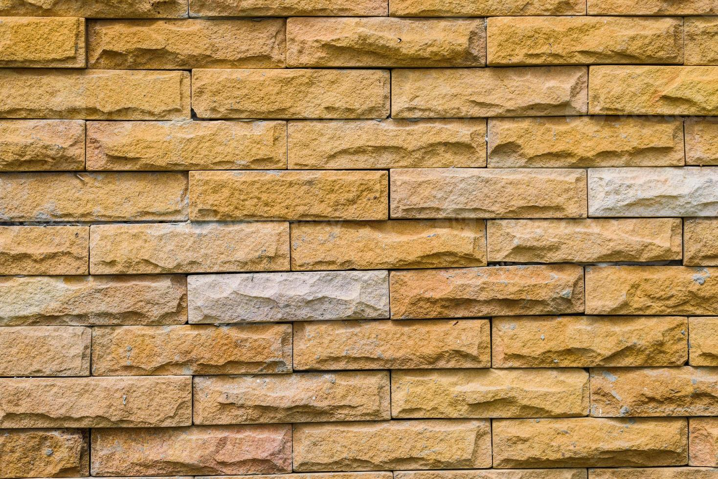 vieux mur de briques brunes photo