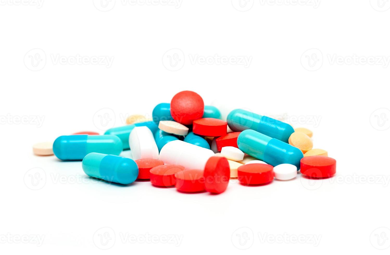 pilules colorées photo