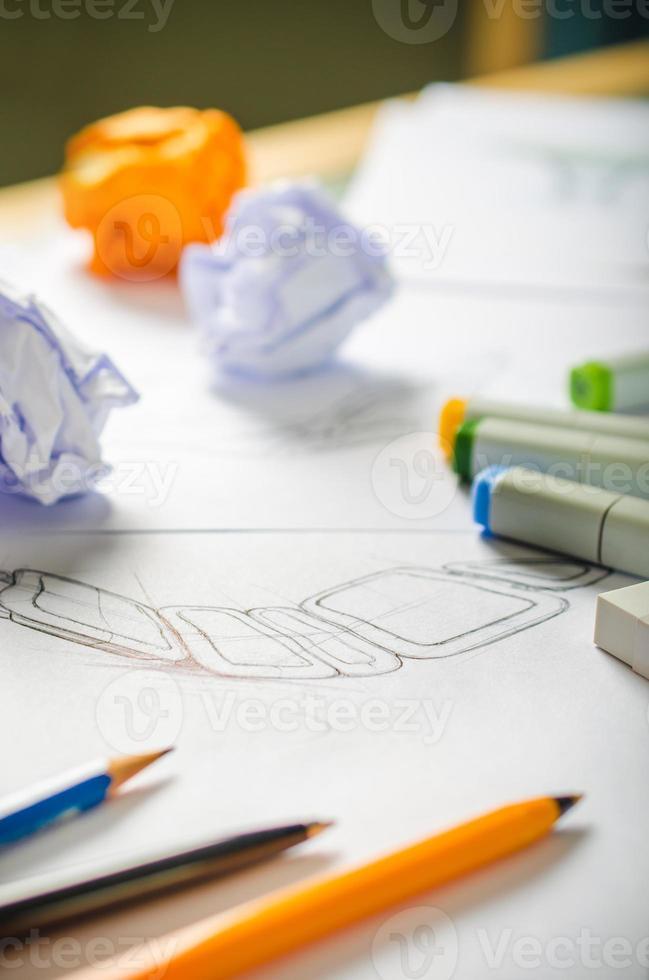 dessin de concepteur photo