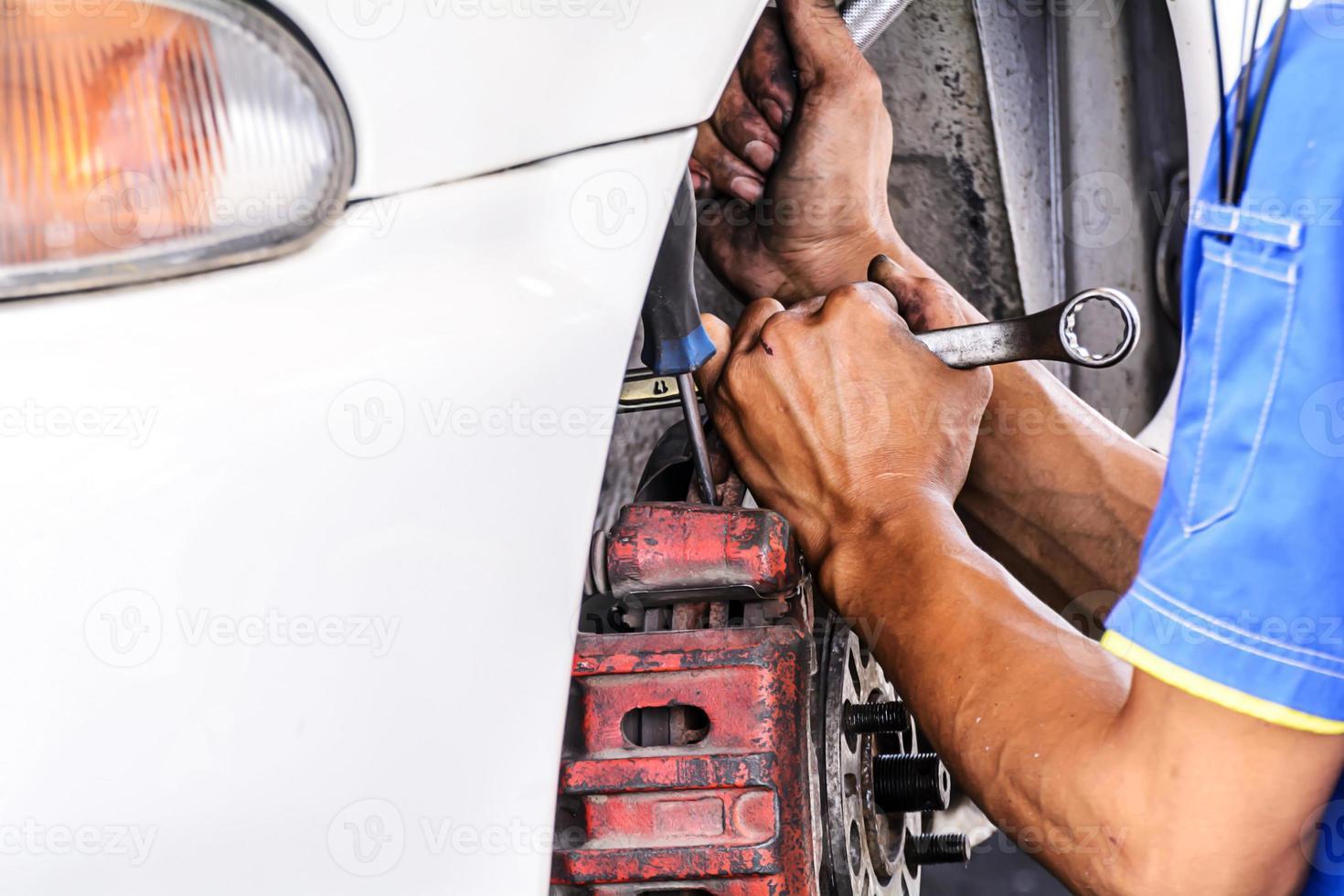 remplacement des freins véhicule photo