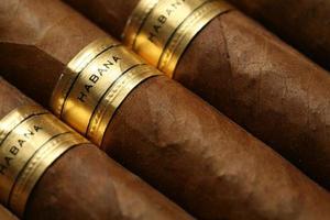conception de fond de cigares havane