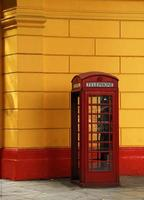 la boîte de téléphone