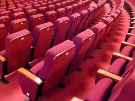 chaises rouges photo