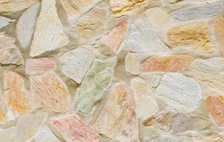 mur sans soudure en pierre.
