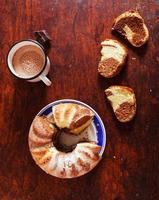 gâteau marbré photo