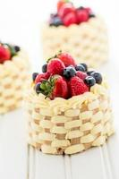 mini gâteaux photo