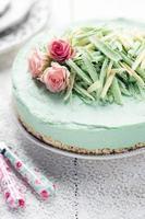 cheesecake à la noix de coco photo
