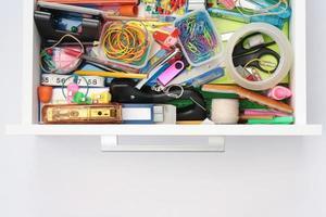 monde magique du tiroir de papeterie