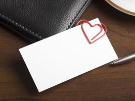 concept de relation de travail romantique photo