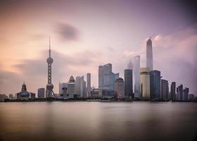 l'aube de Shanghai photo