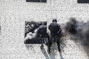 opération d'assaut de swat photo