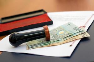 le coût des services notariaux photo