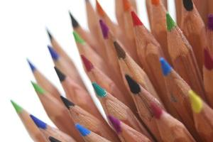 crayons de couleur photo