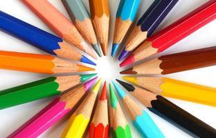 des crayons photo
