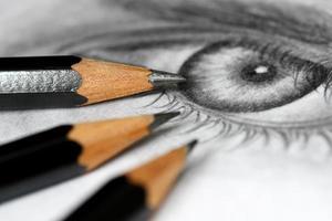 crayons à dessin photo