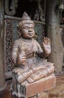 statue d'angle thaï photo