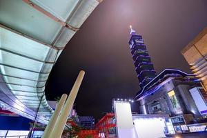 paysage urbain de taiwan photo