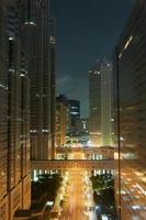 vue de nuit de tokyo photo