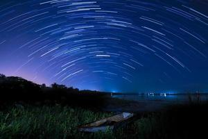 mouvement d'étoile photo