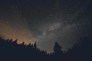 étoiles filantes photo