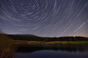 traînées d'étoiles photo