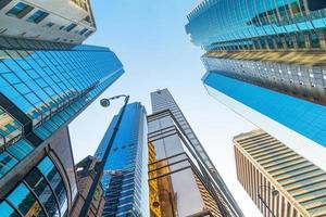 centre d'affaires moderne à hongkong photo