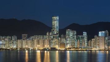 paysage urbain de Hong Kong photo