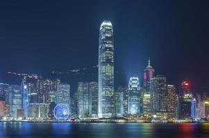 paysage urbain de Hong Kong photo
