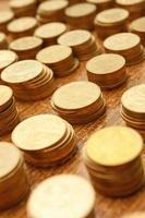 pièces de monnaie de l'ukraine photo