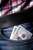 Entreprise. de l'argent dans votre poche photo