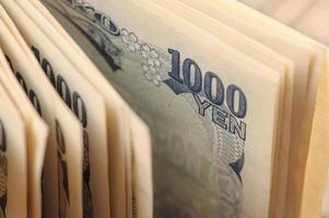 yen japonais photo