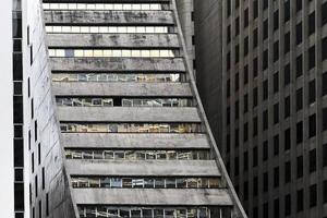 bâtiments de «l'avenue paulista». photo