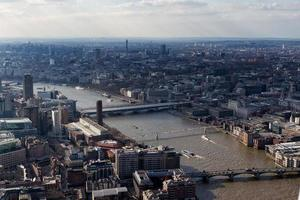 vue sur les toits de Londres photo