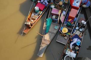 damnoen saduak, thaïlande photo