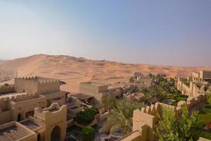 oasis du désert photo