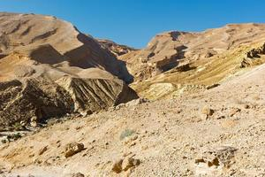 désert d'Israël photo