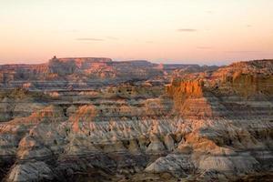 badlands du désert photo