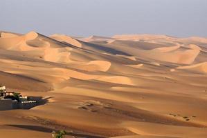 désert d'abu dhabi photo