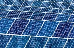 centrale solaire photo