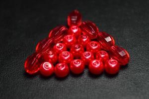 photographie d'objets rouges photo