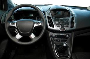 intérieur de la voiture