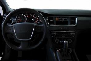 intérieur de la voiture photo