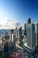 ville d'affaires singapour photo