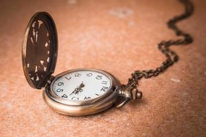 chronomètre sur un solitaire photo