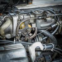 moteur de voiture photo
