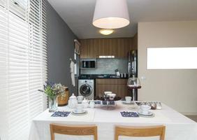 cuisine intérieure de luxe photo