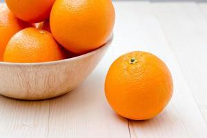 Orange pense concept différent photo