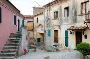 borgo tipico dell'isola d 'elba photo