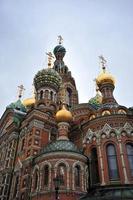 église du sauveur sur le sang répandu, st. Pétersbourg, Russie photo