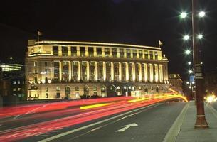 flou de la circulation, Londres photo